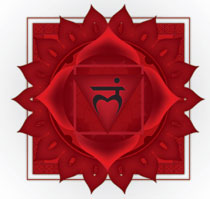 The meaning of the color RED - Root Chakra
