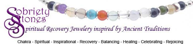 SobrietyStones Crystal Healing Jewelry and Inspirational Jewelry Gifts